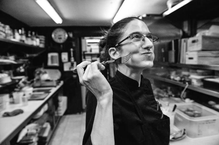 Maria Nicolau cuinera