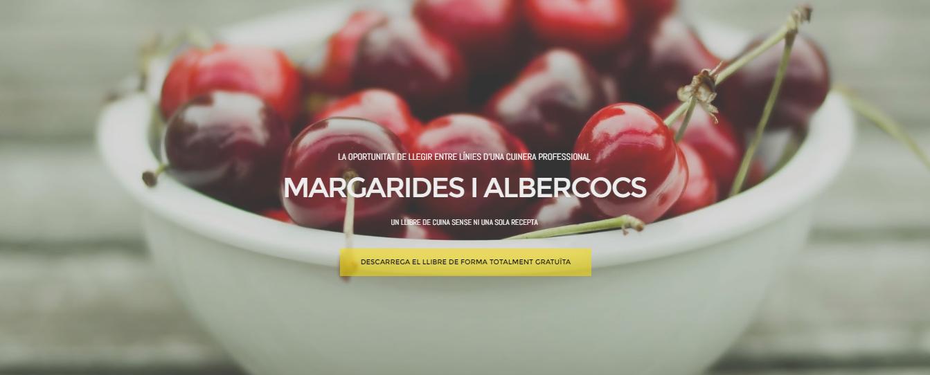 Nou portal de descàrrega gratuïta del llibre: Margarides iAlbercocs