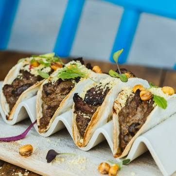 Tacos de fricandó