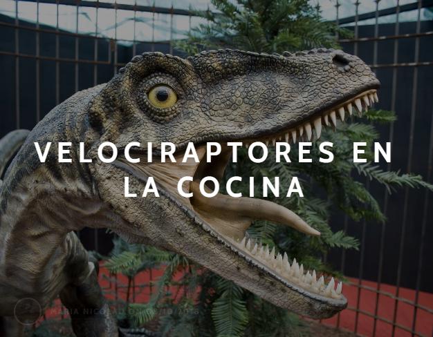 Velociraptores en lacocina