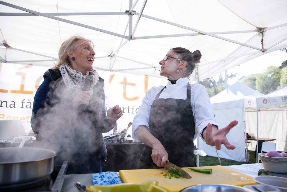 La cuina de poble a la FundacióAlícia