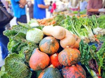 Tardor al mercat: carbasses