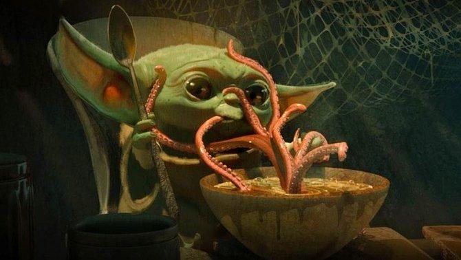 "Sèries i cuina: Baby Yoda, ""30 monedas"" i menjarsfastigosos"