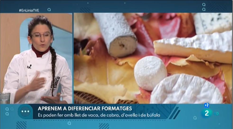 Les varietats i el consum de formatge a En LíniaRTVE